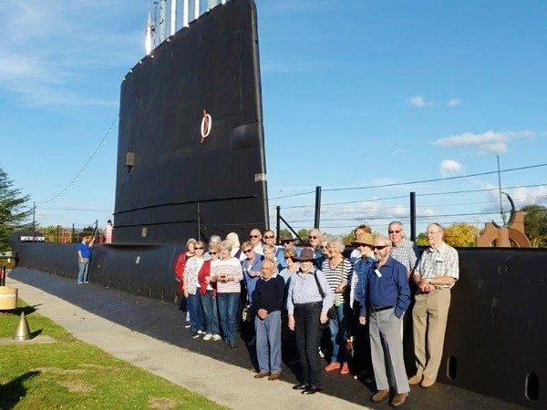 Wangaratta Trip Holbrook Submarine