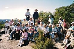 1993 Activities Bushwalk to Lloyds Trig