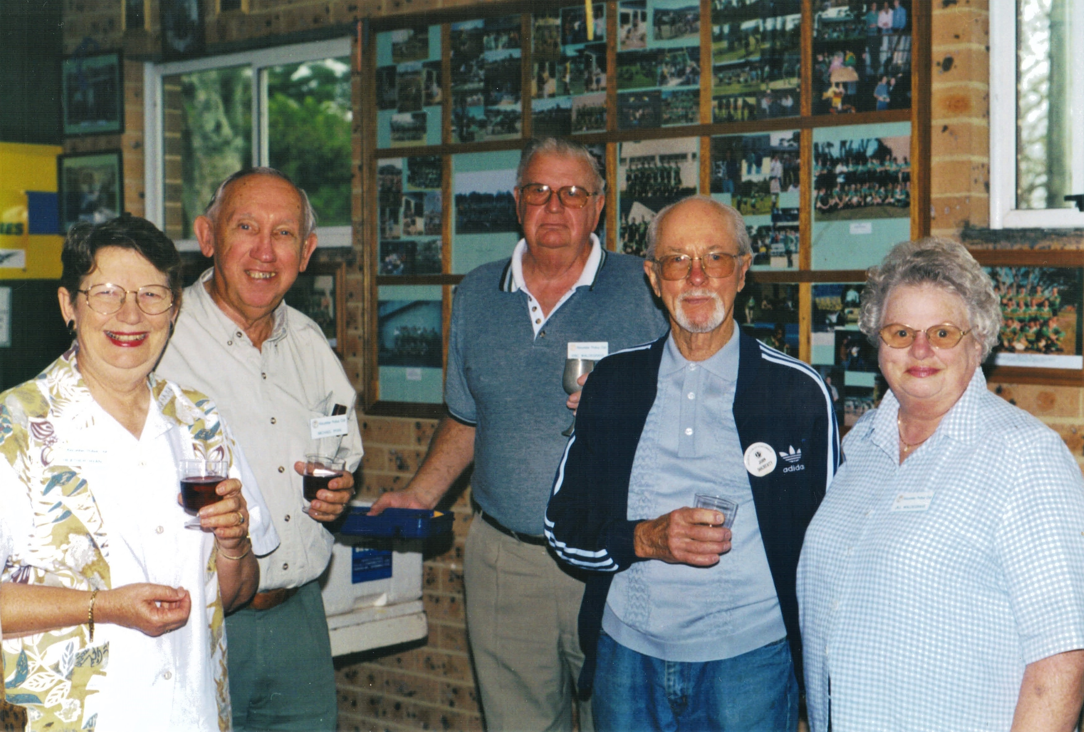 2001 Outings Barbecue at Avoca 10-4-01