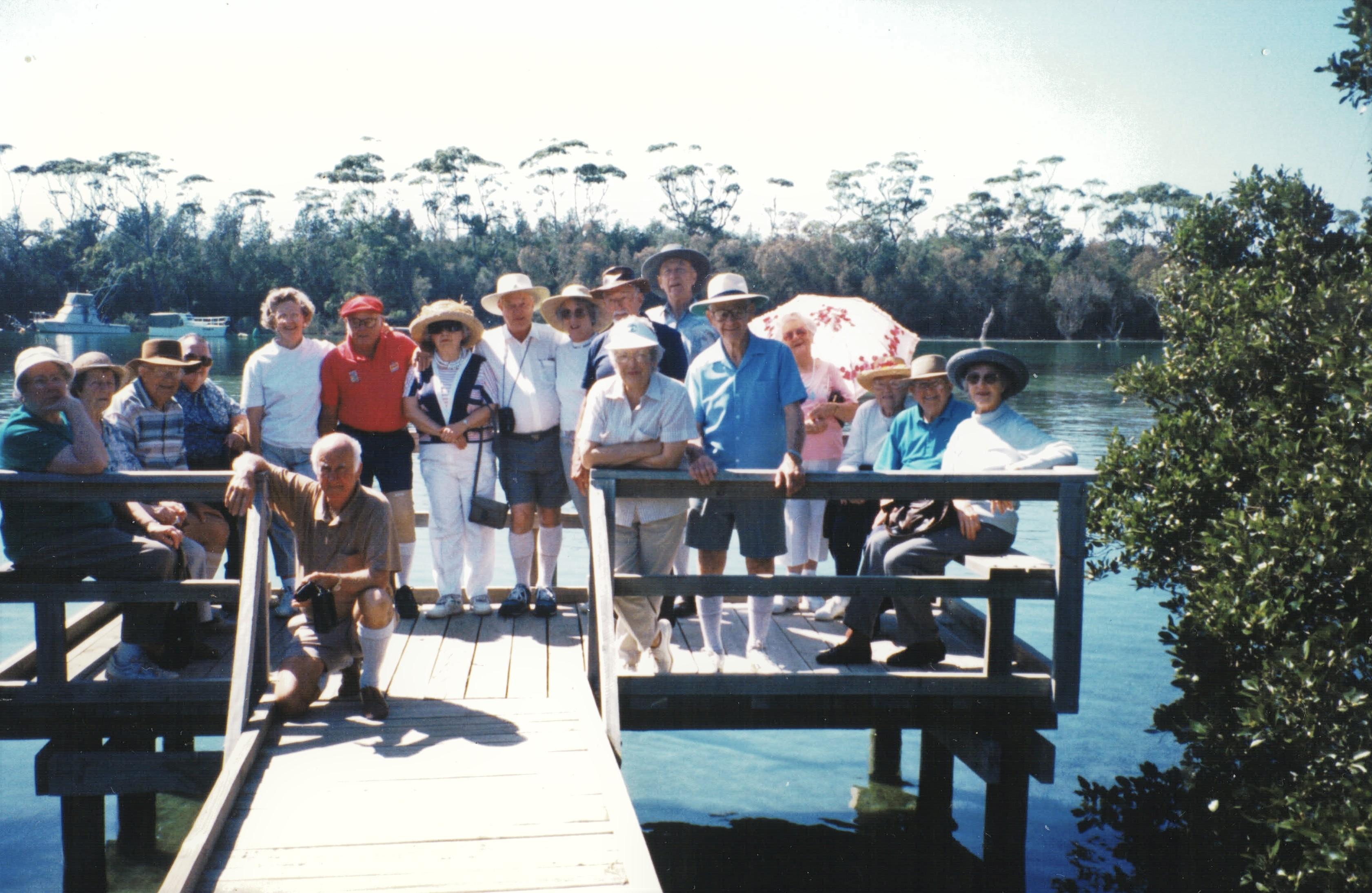 1996 Activities Bushwalkers Holiday at H