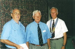 2001 Meetings New Member Barry Riley wit