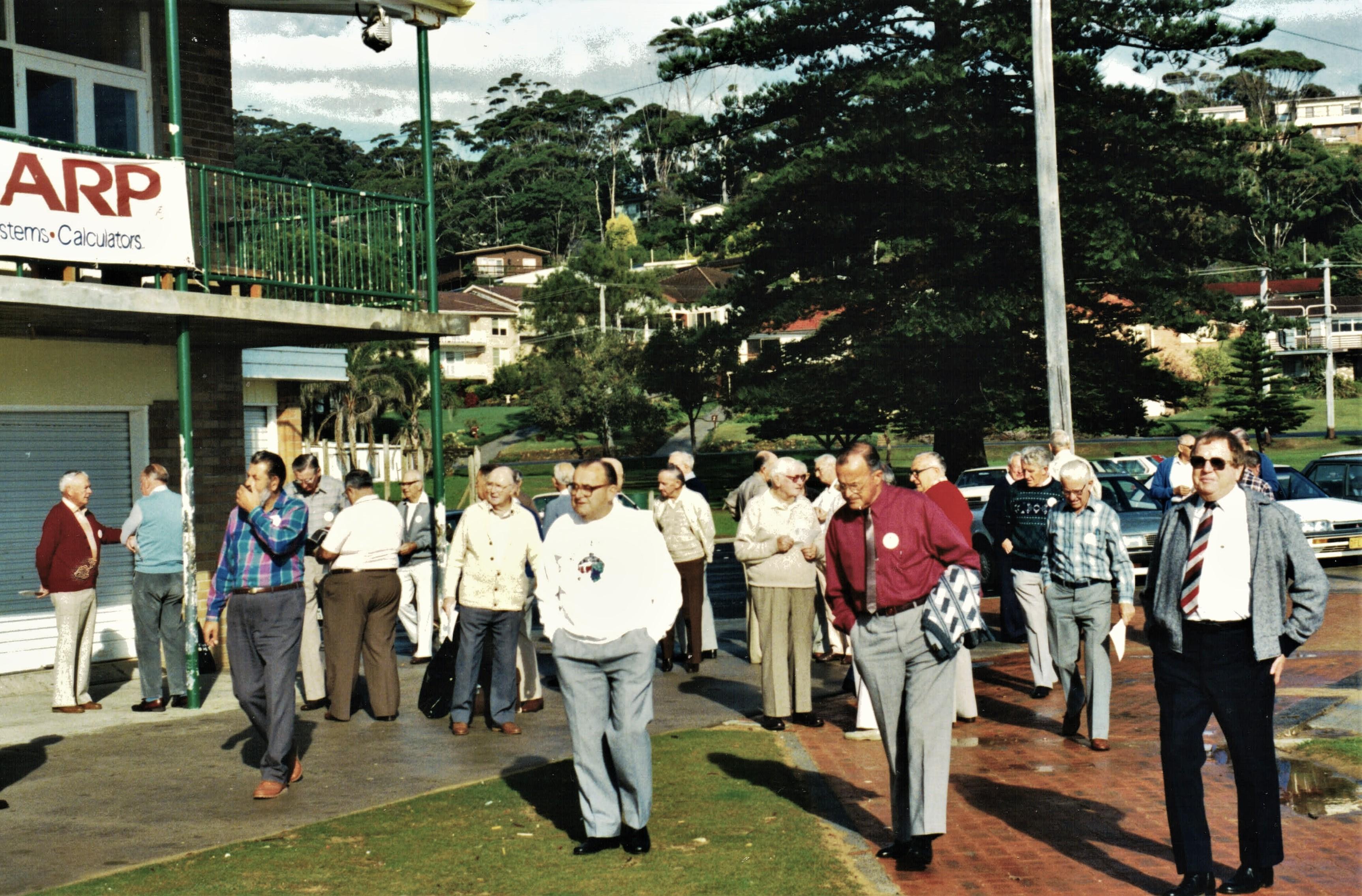 1991 Meetings Locked out of meeting venu