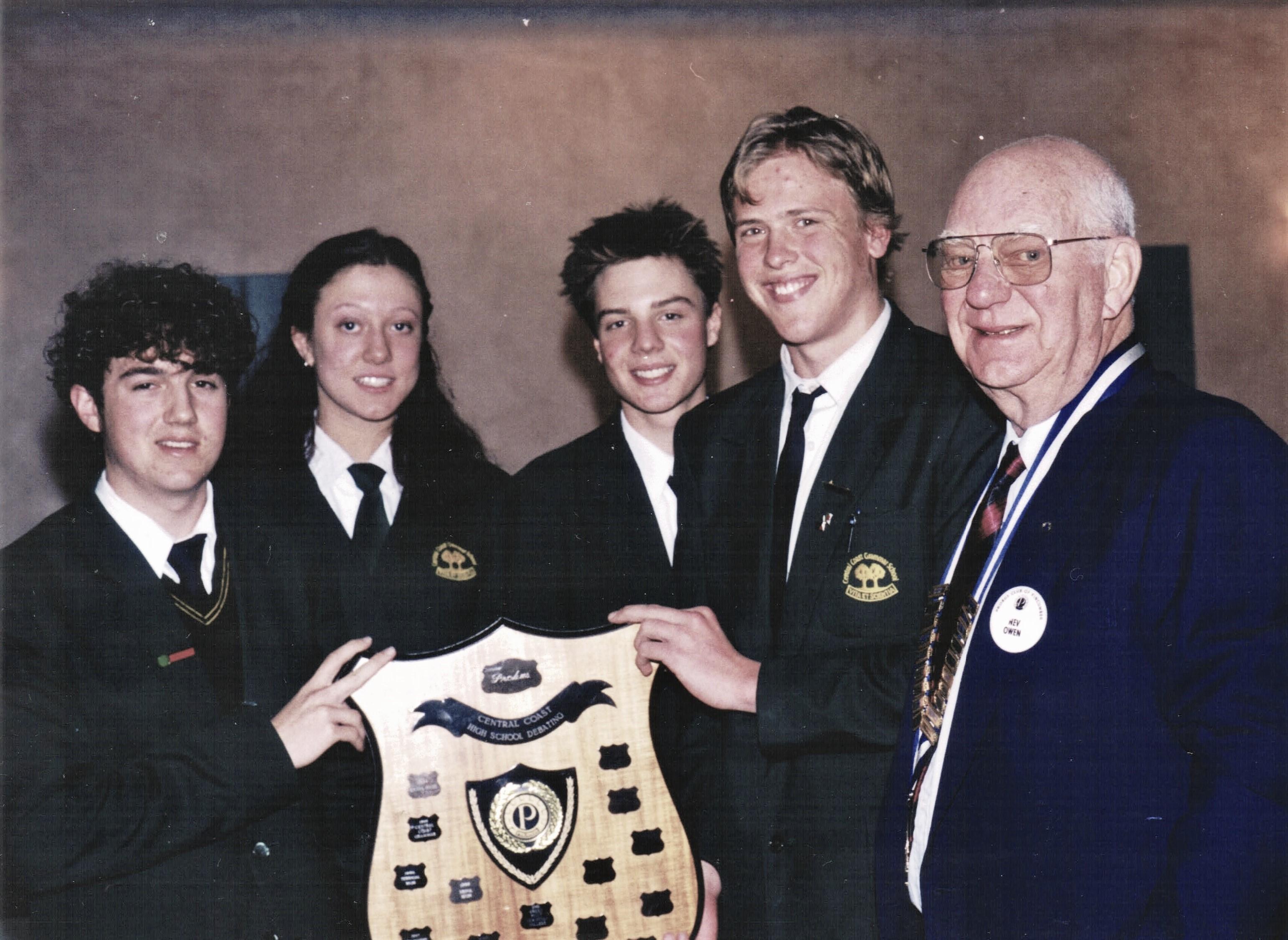 2002 Activities Debate winners Central C