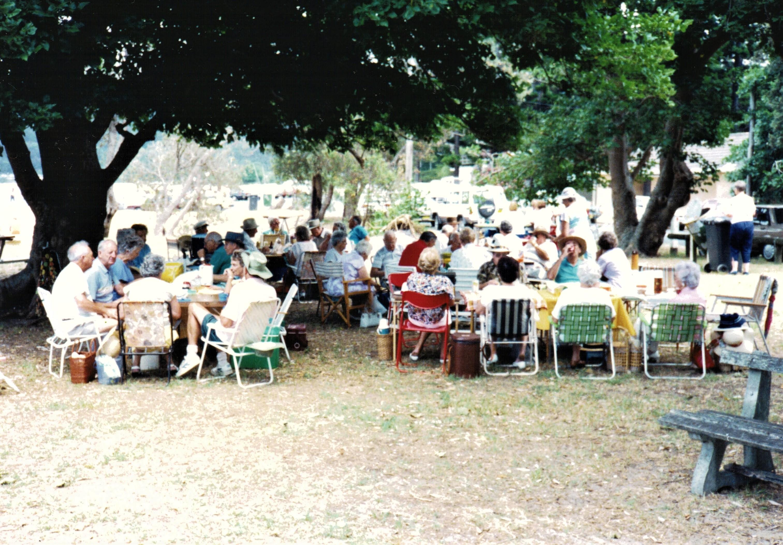 1991 Outings BYO picnic at Patonga 8-1-9