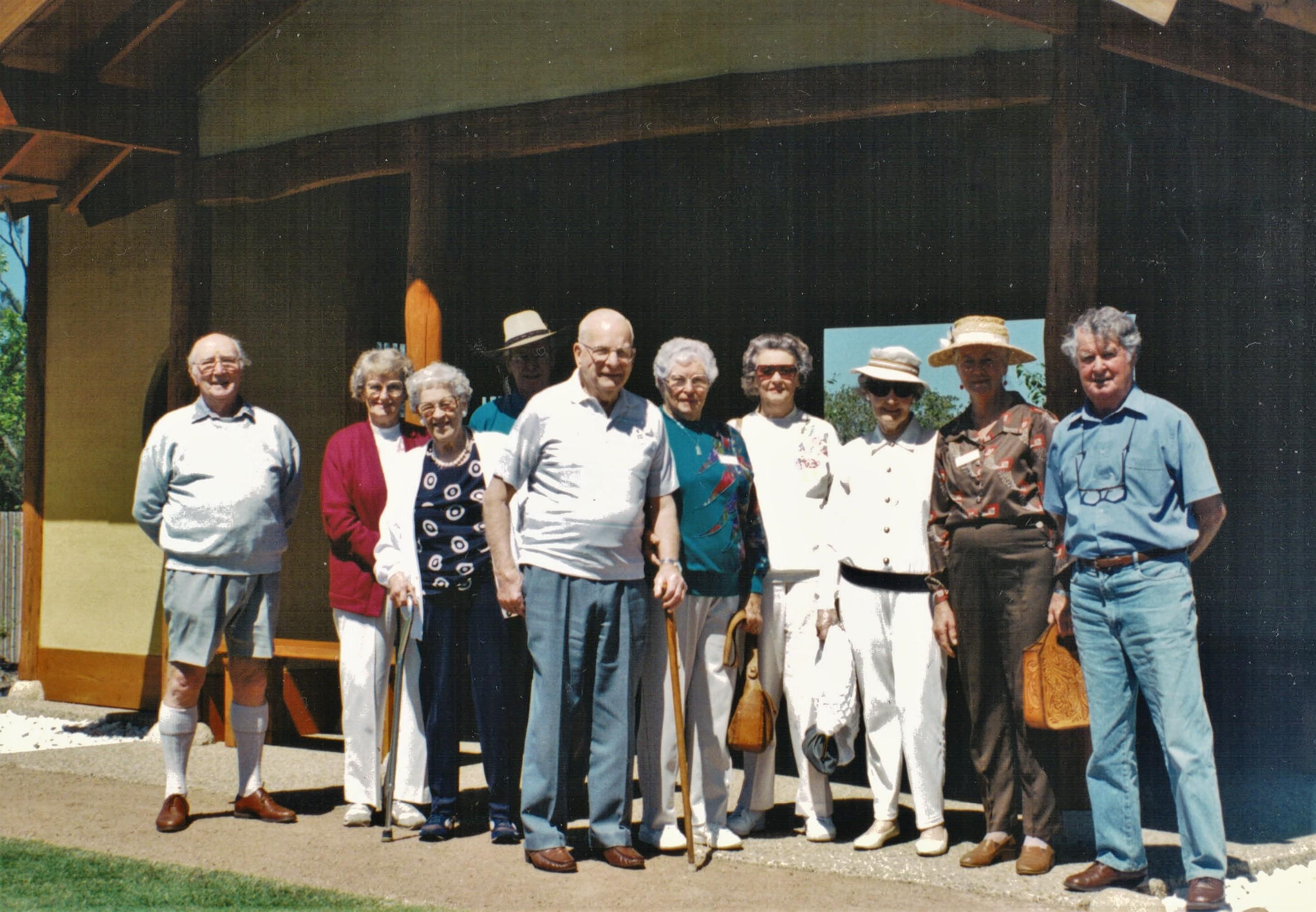 1995 Outings Japanese Gardens East Gosfo