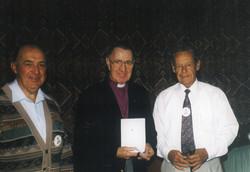 1998 Meetings New member Colin Sheumack