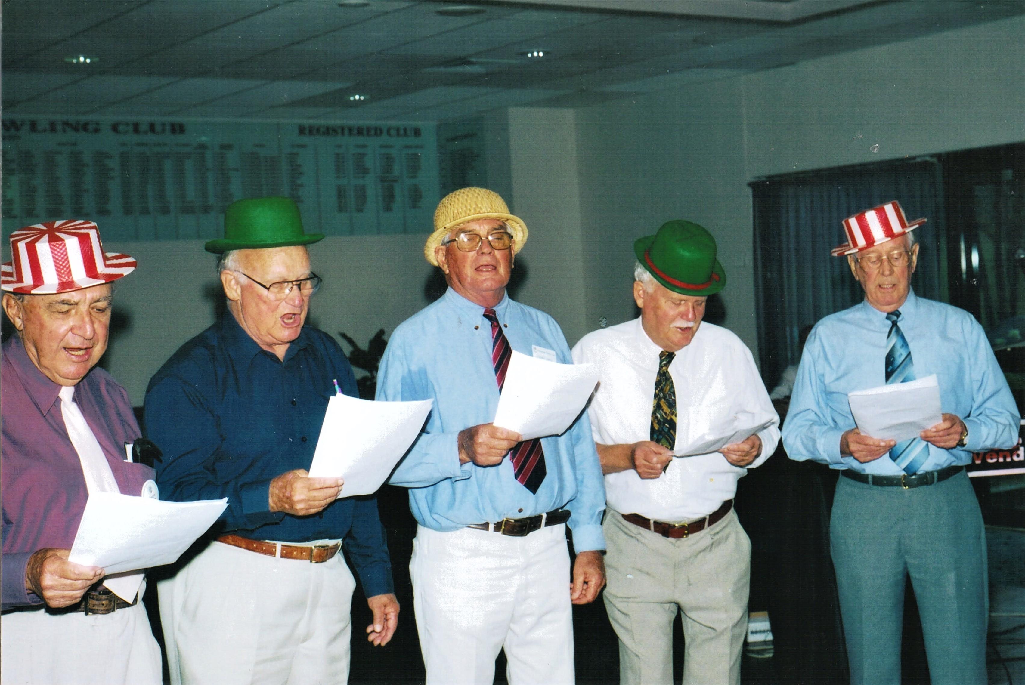2002 Activities Christmas Luncheon at Av