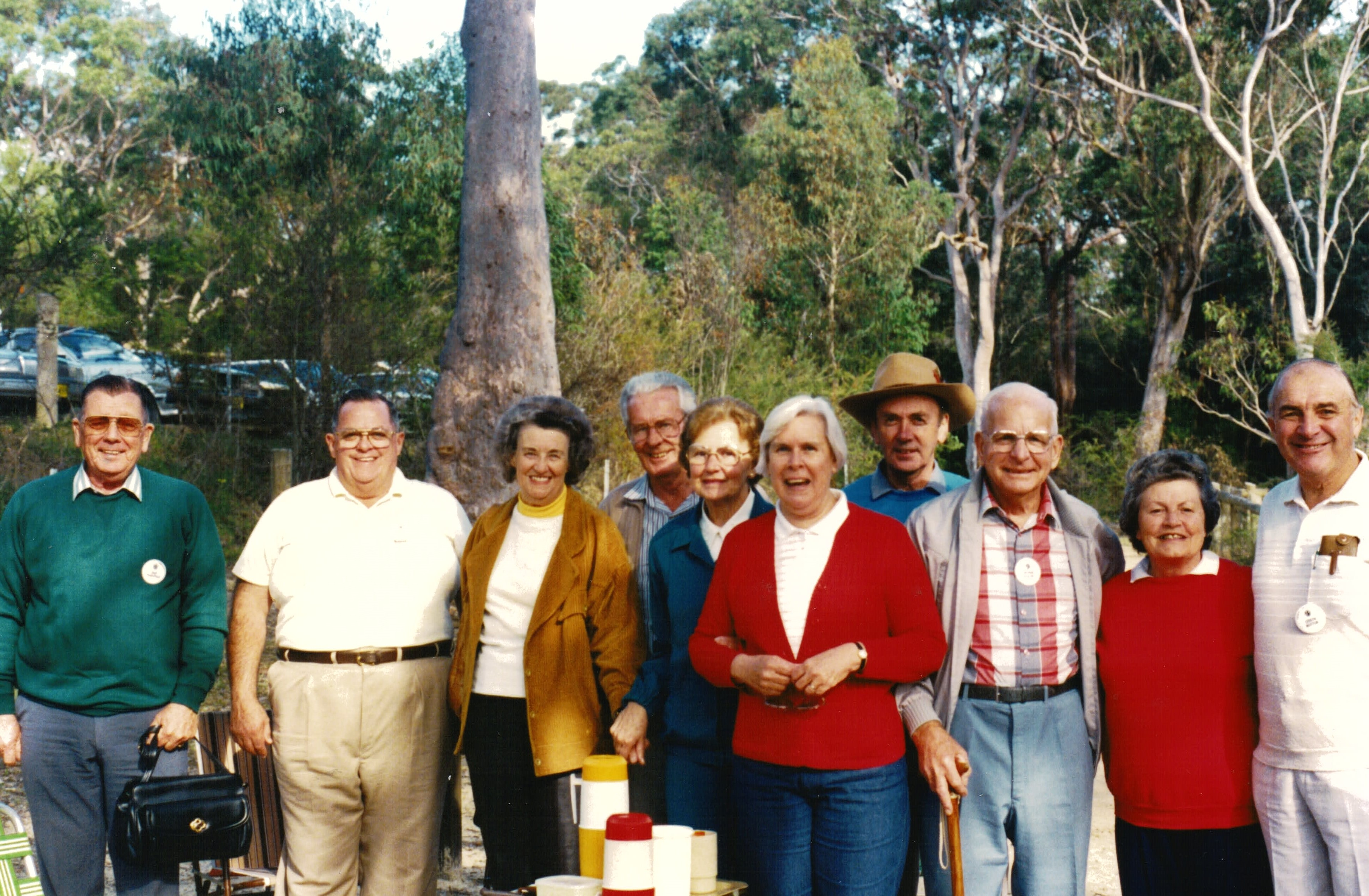 1990 Outings Picnic at Somersby Falls 12