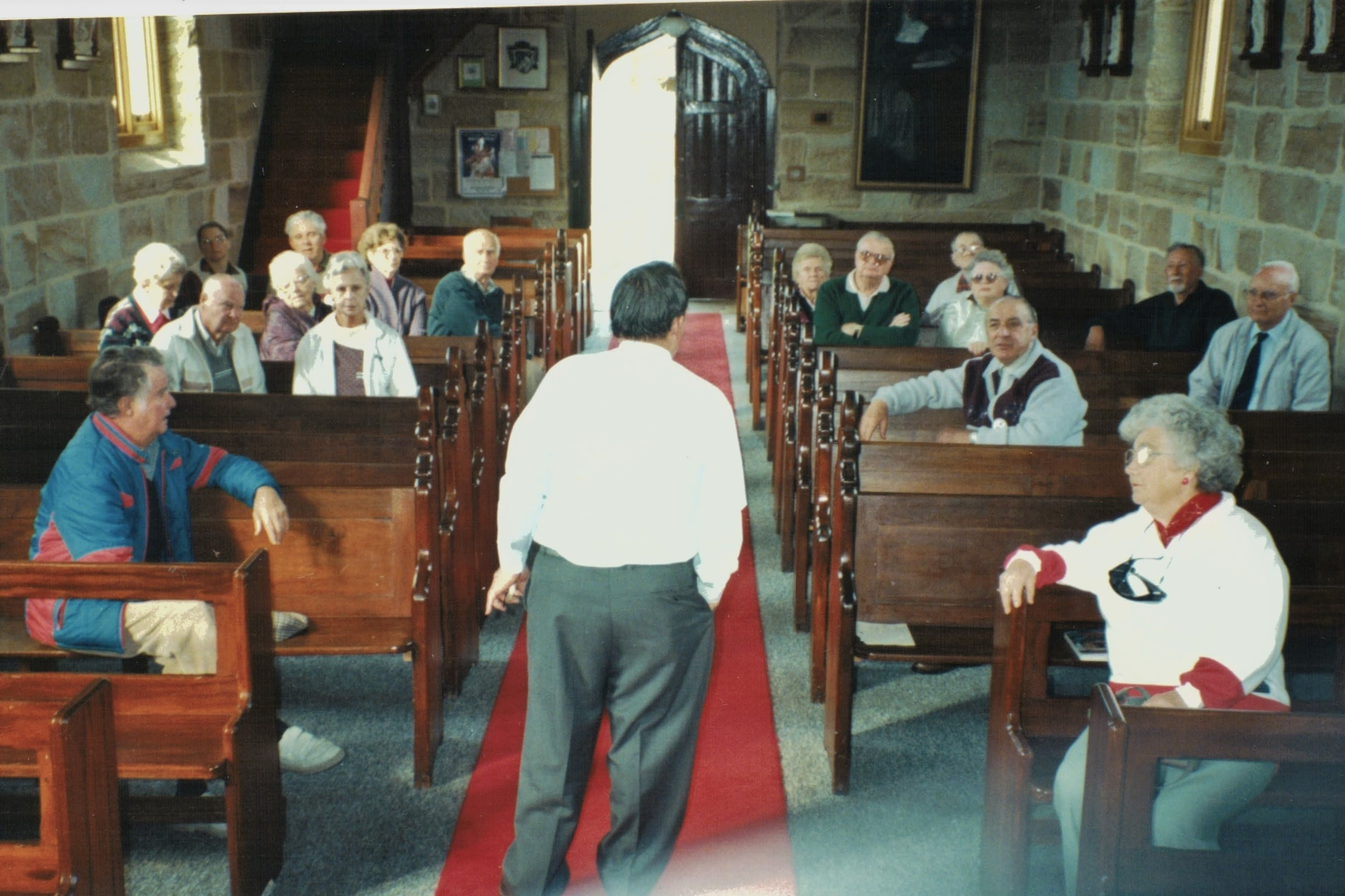 1997 Outings Visit to Historic Holy Cros