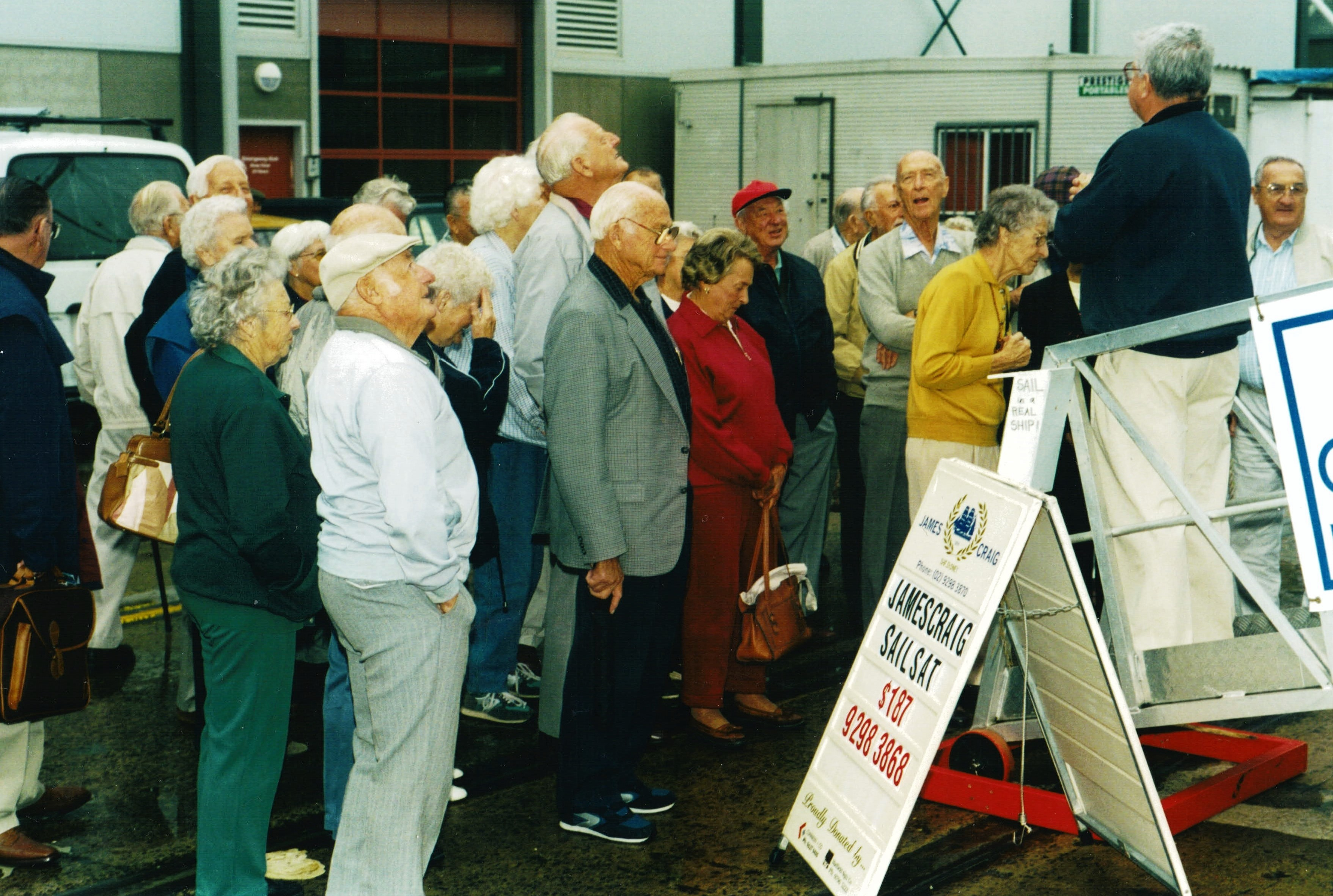 2002 Outings Visit to the James Craig at