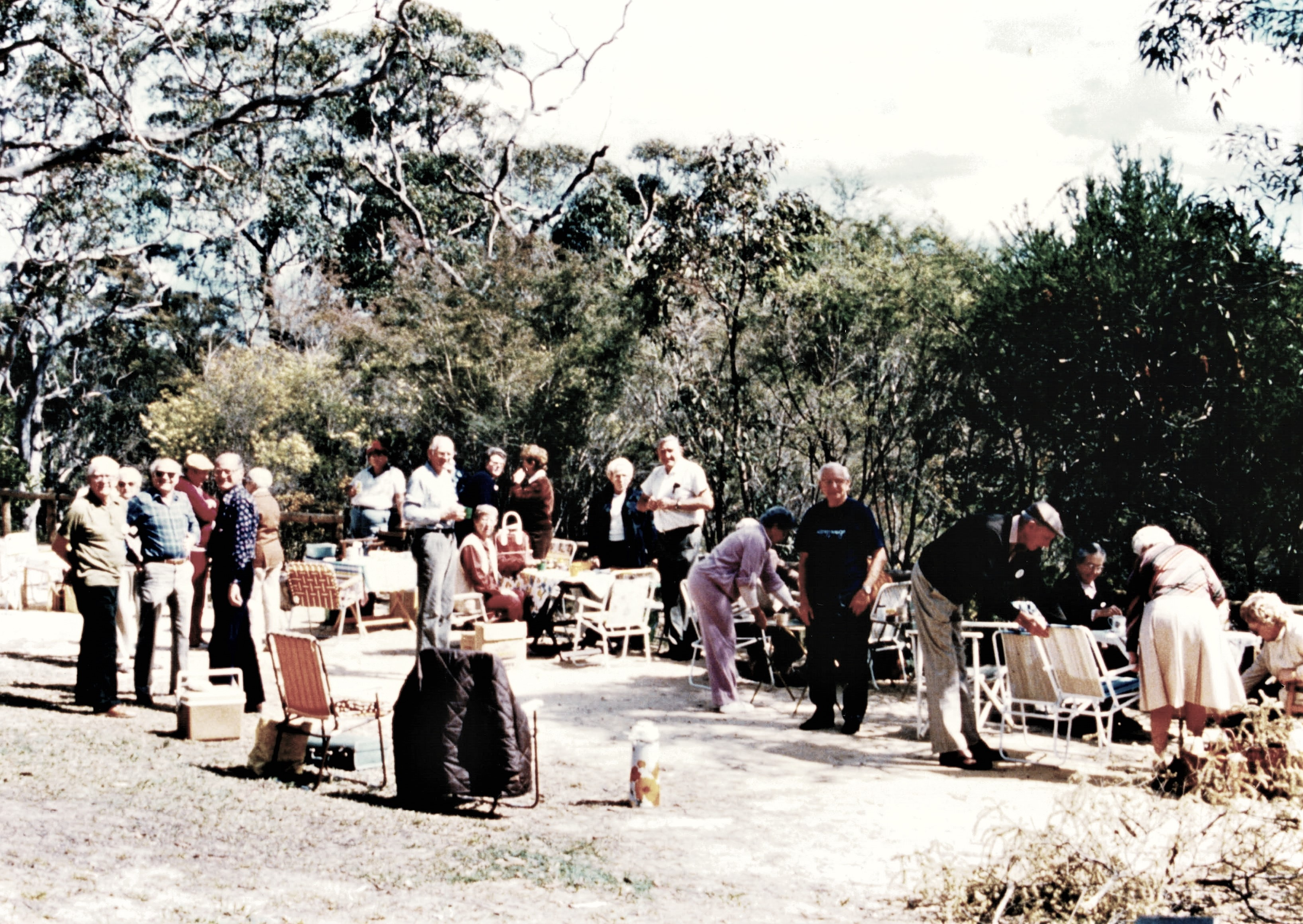 1986 Outings Somersby Fall picnic 9-9-86