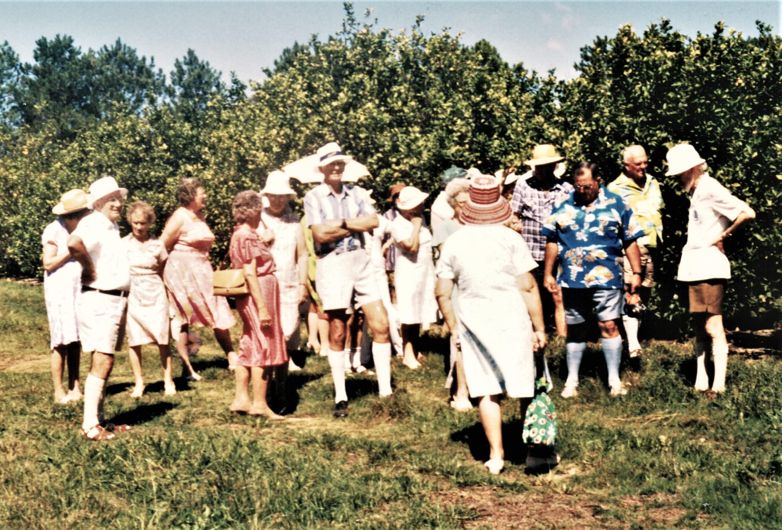 1985 Outings Mangrove Mountain 12-3-85
