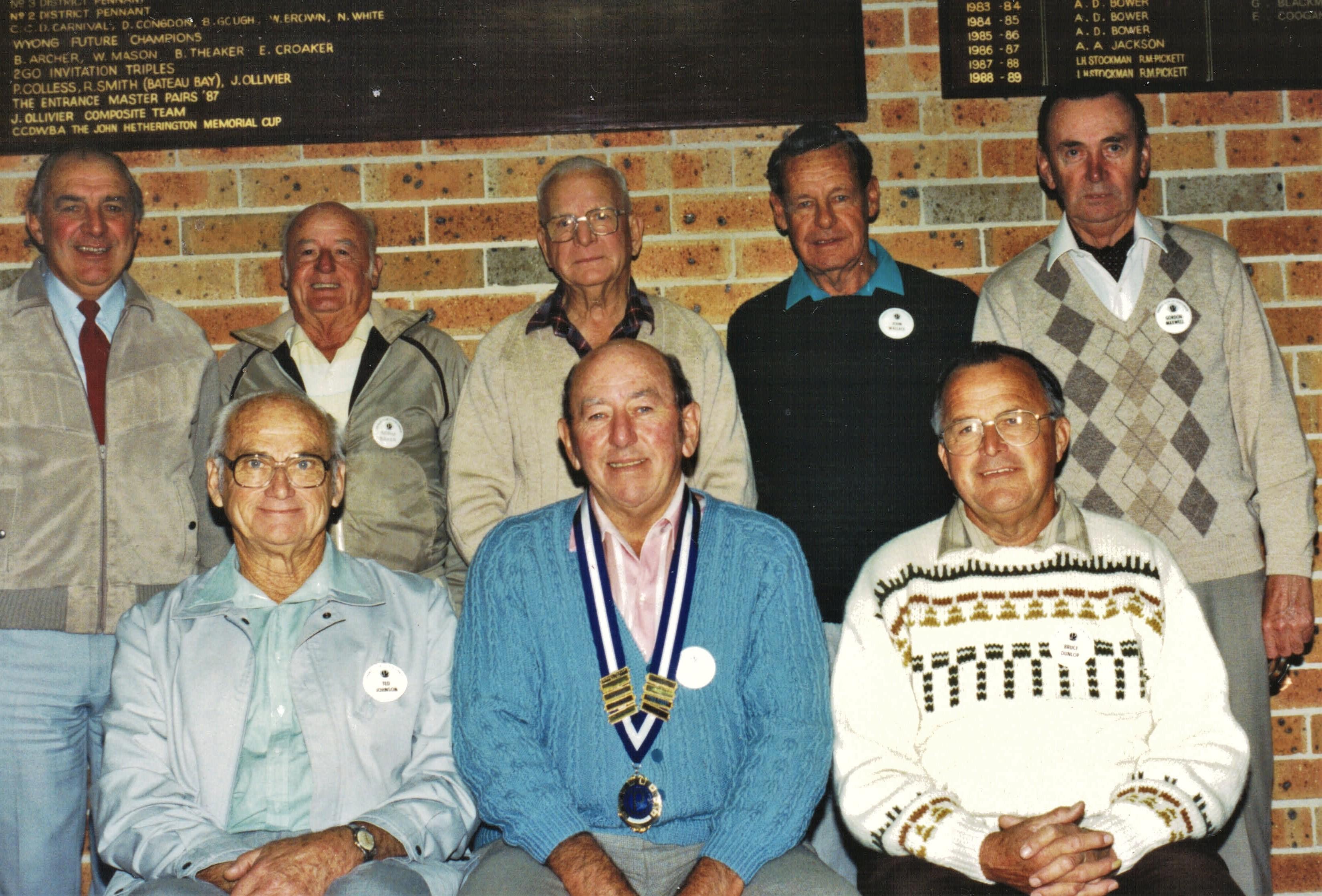 1992 Meetings Execuive Committee 23-6-92