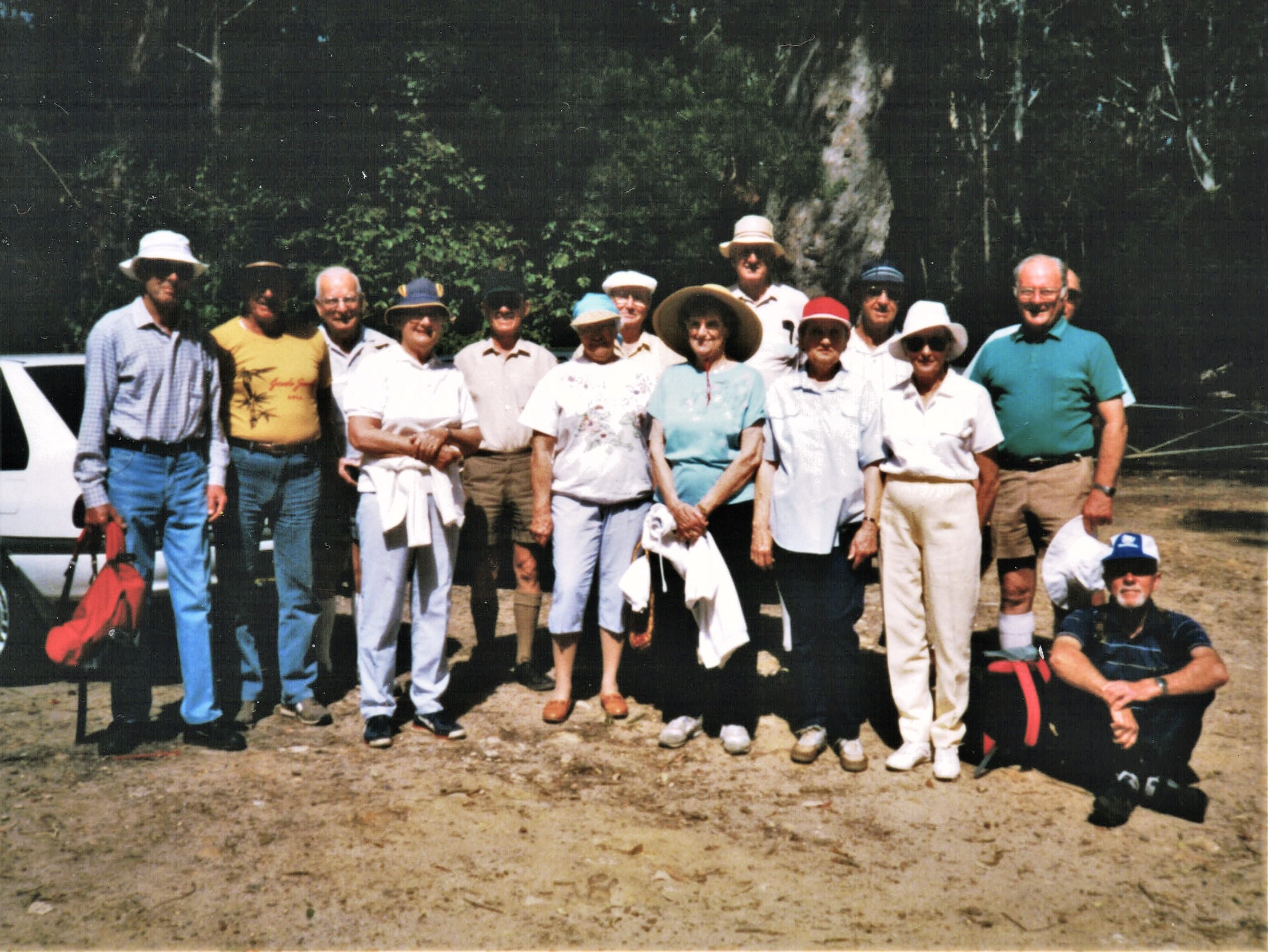 1991 Activities First bush walk Bombi Mo