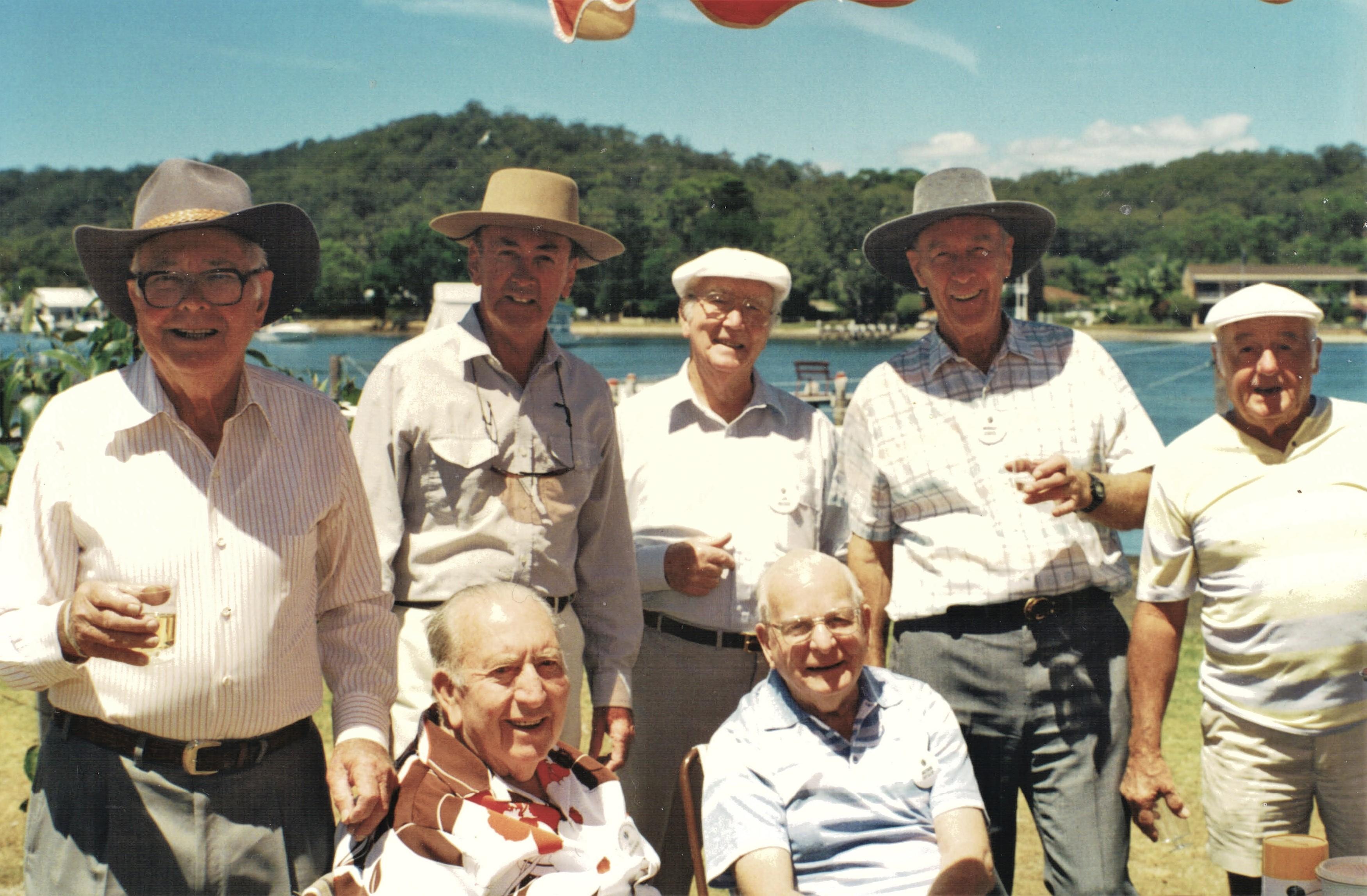 1997 Outings Picnic Fish and Chips at Da