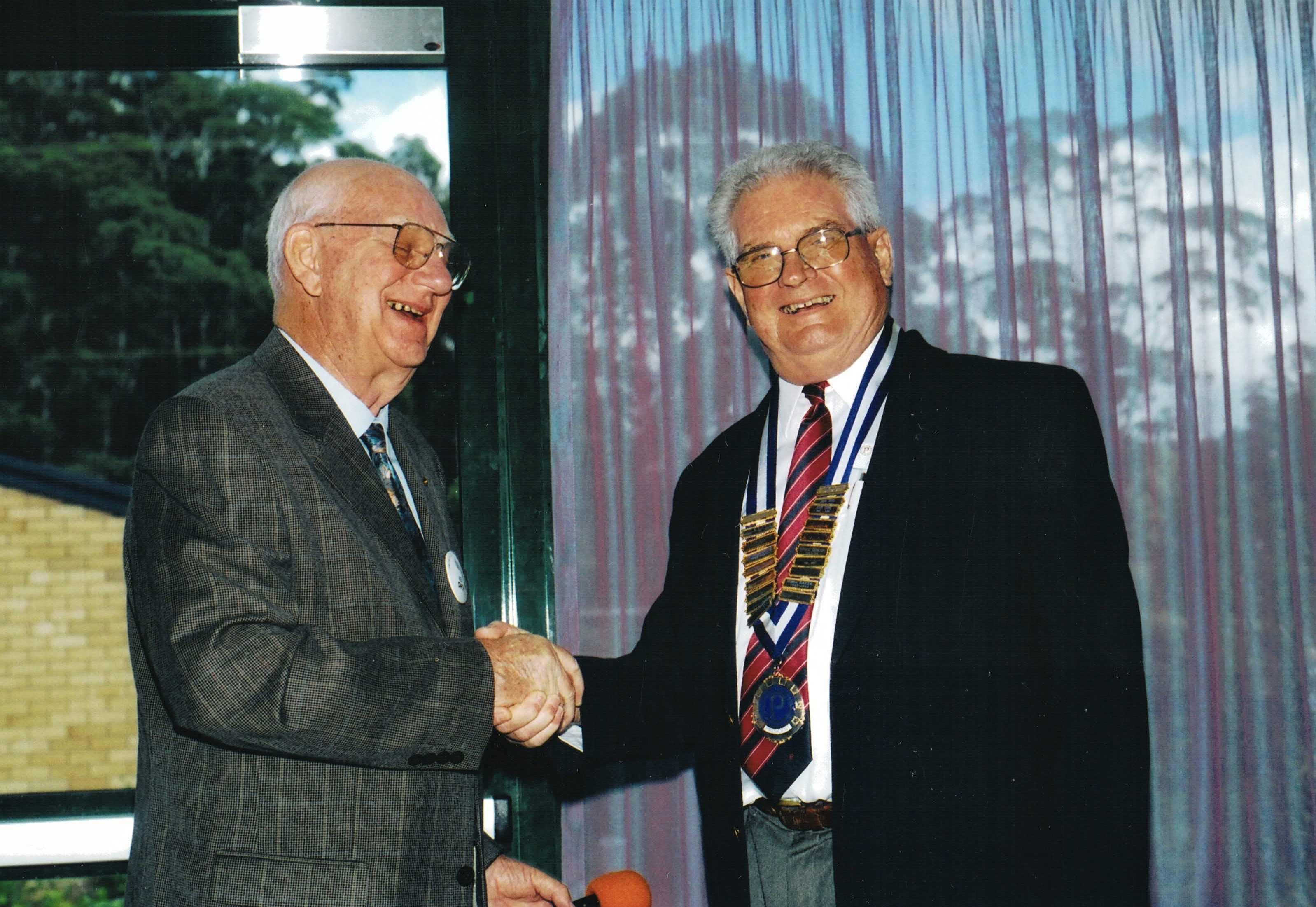 2003 Meetings President Forbes Smith wit