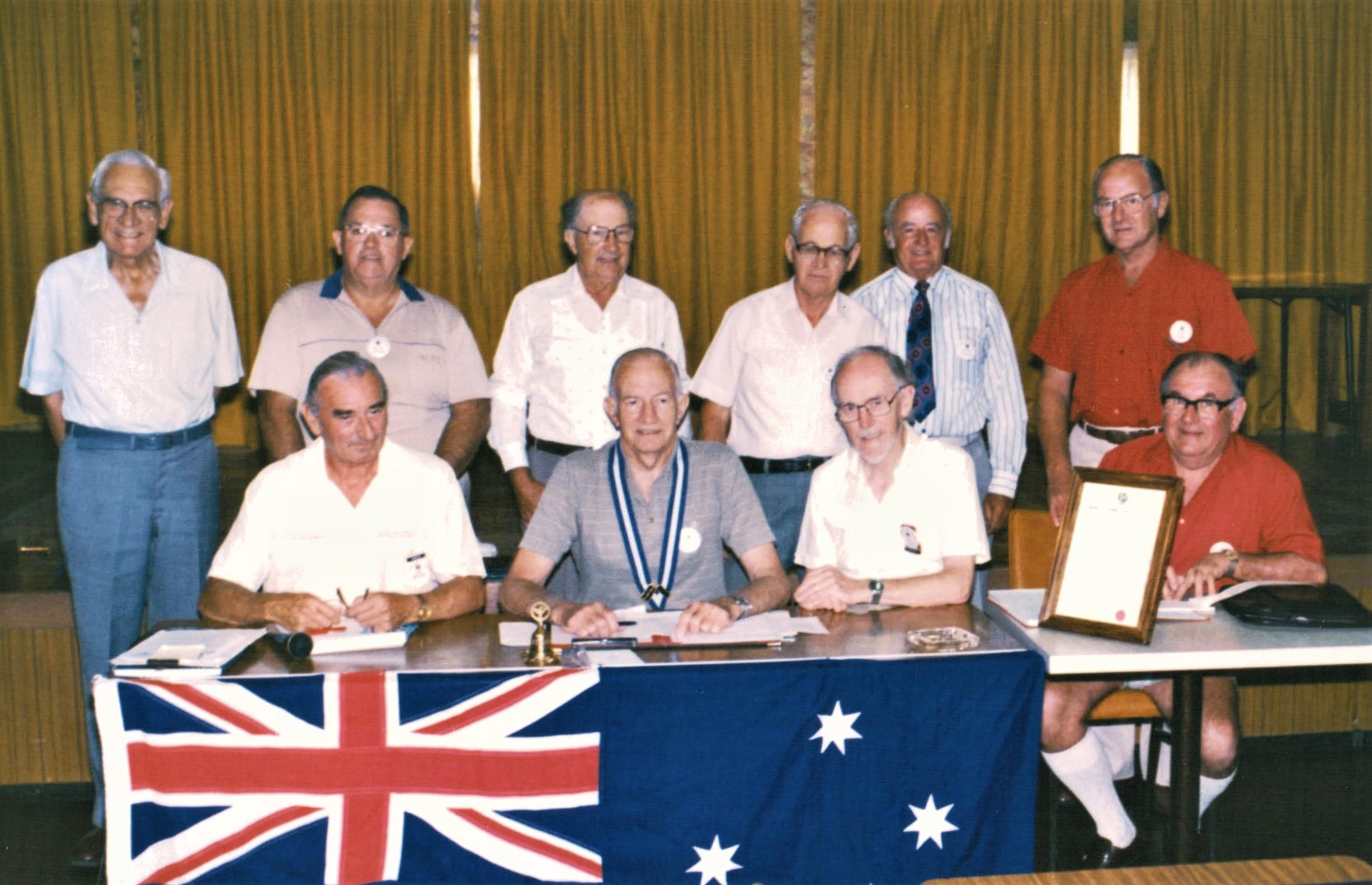1985 Meetings Executive Committee 23-4-8
