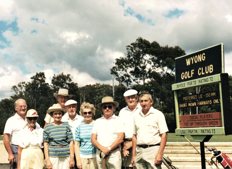 1989 Activities Golfers March 89