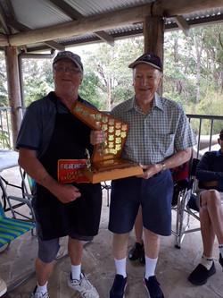 2020 Golf champion - Wally Tuffs
