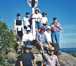 2001 Activities Walk to Wondabyne Trig (