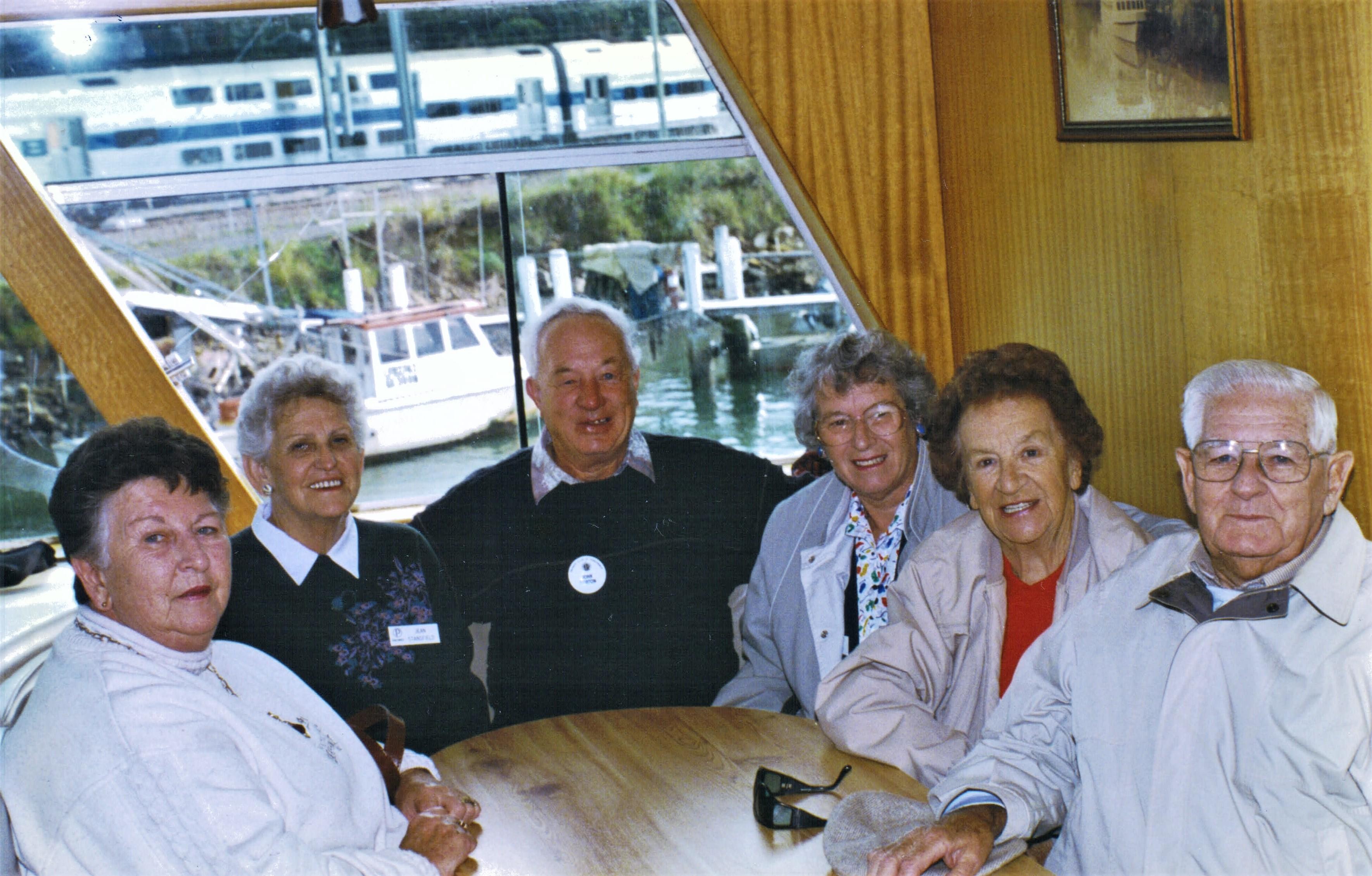 1996 Outings _Postmans Run_ boat on Hawk