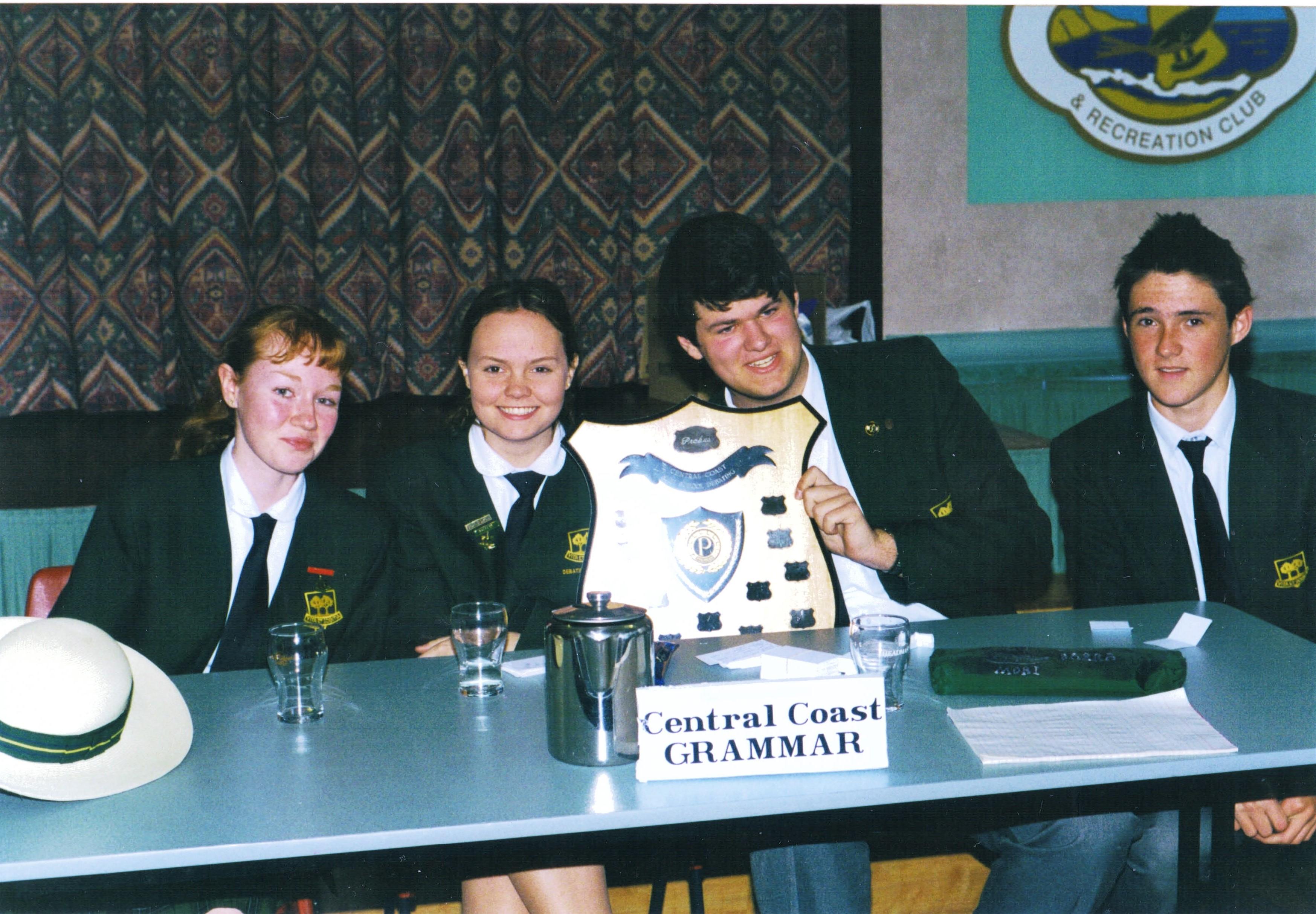 2000 Activities Debate Winners Central C