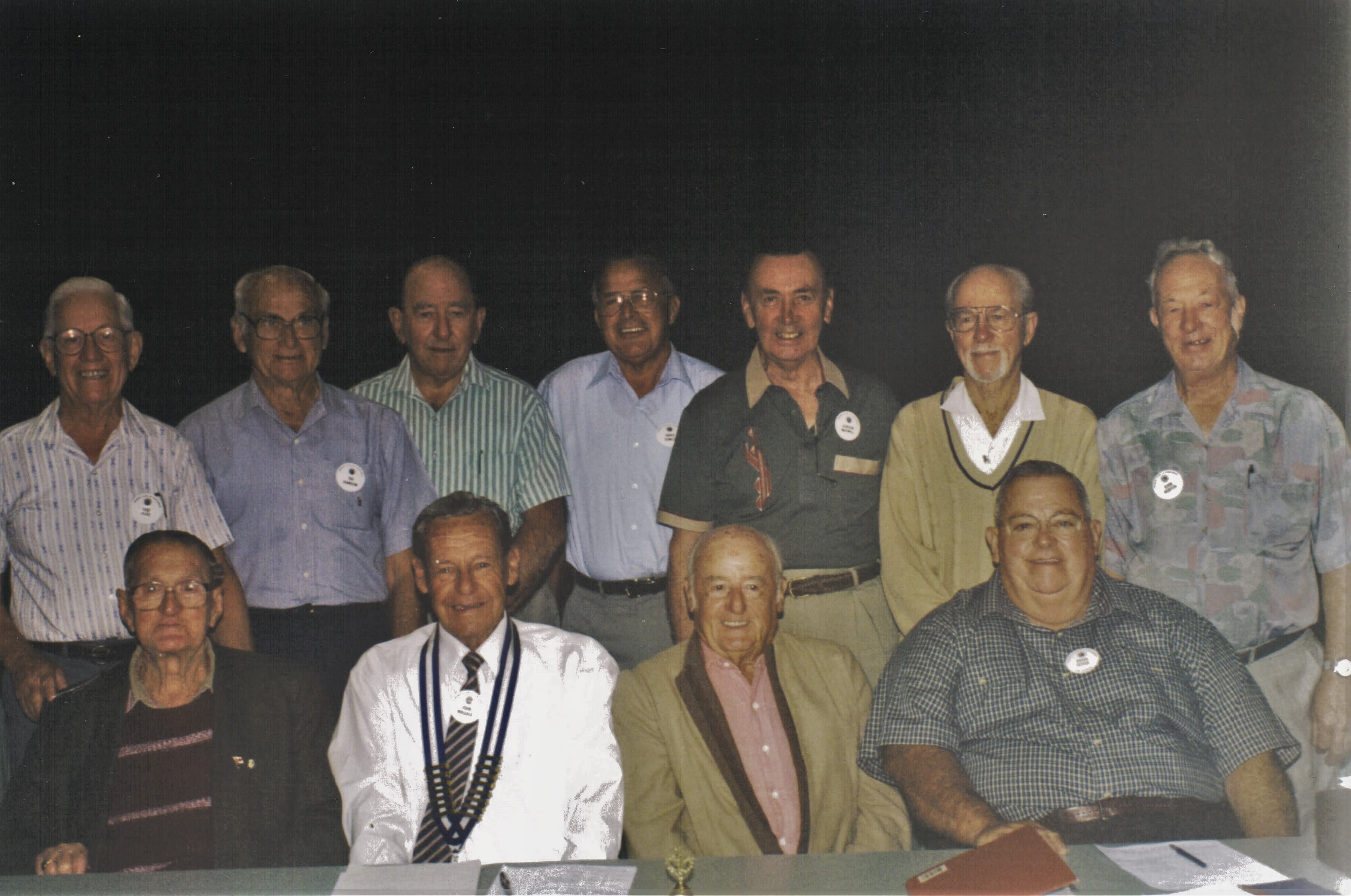 1998 Meetings Present and Past President