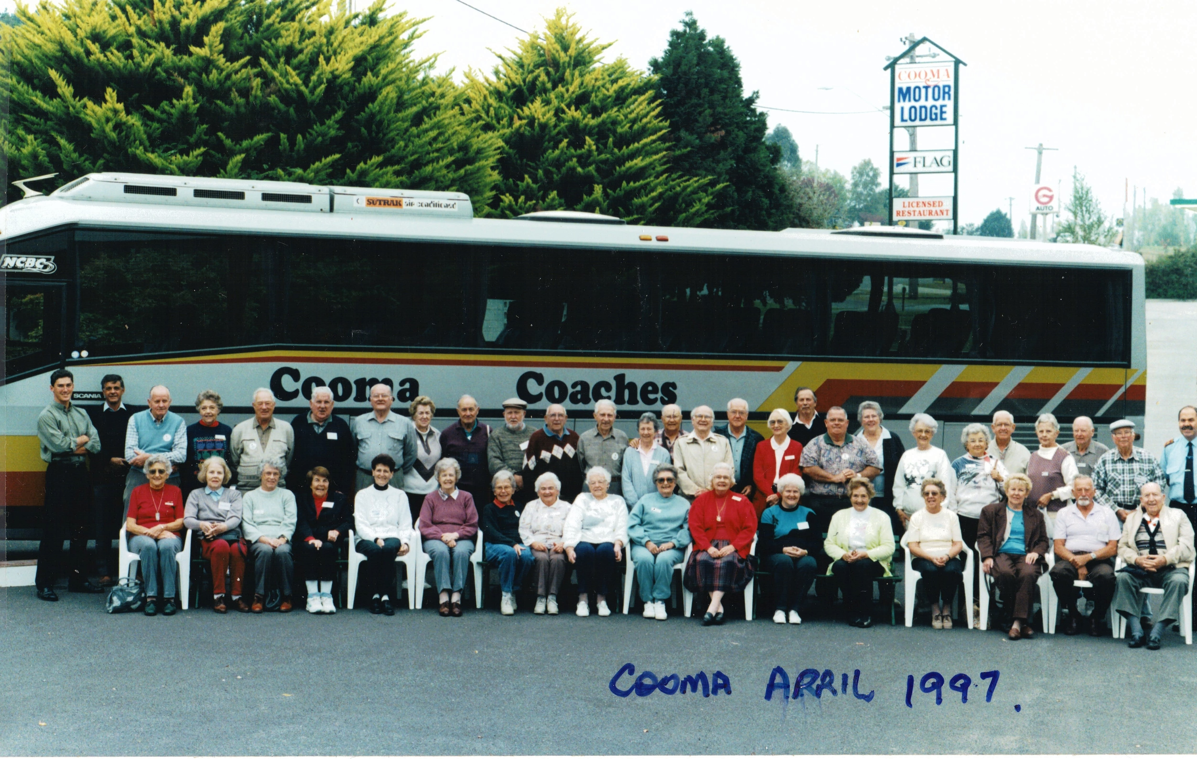 1997 Activities Holiday to Cooma April 9
