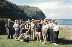 2001 Activities Walk to Little Beach Bou