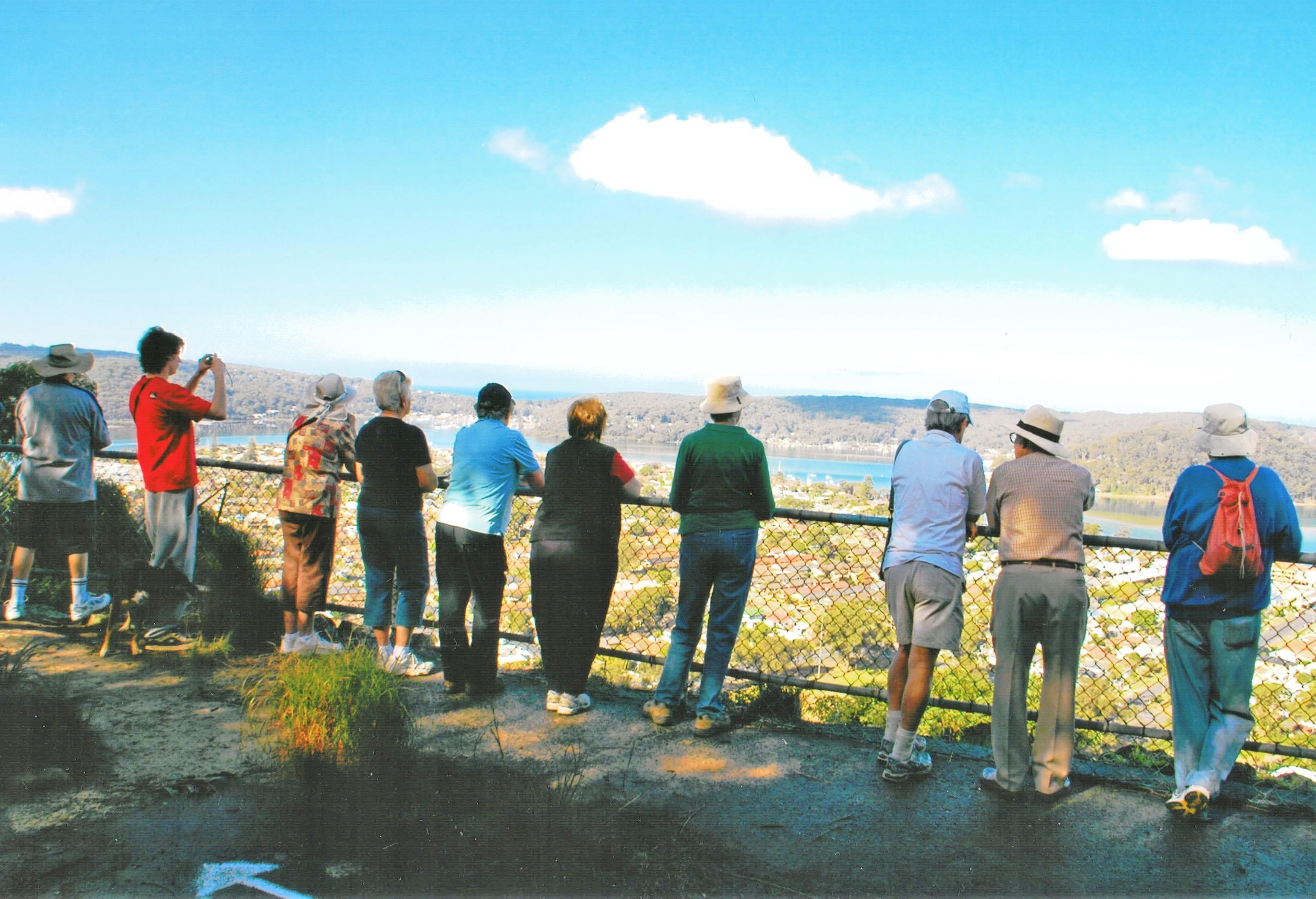 2008 Activities Blackwall Mountain Walk
