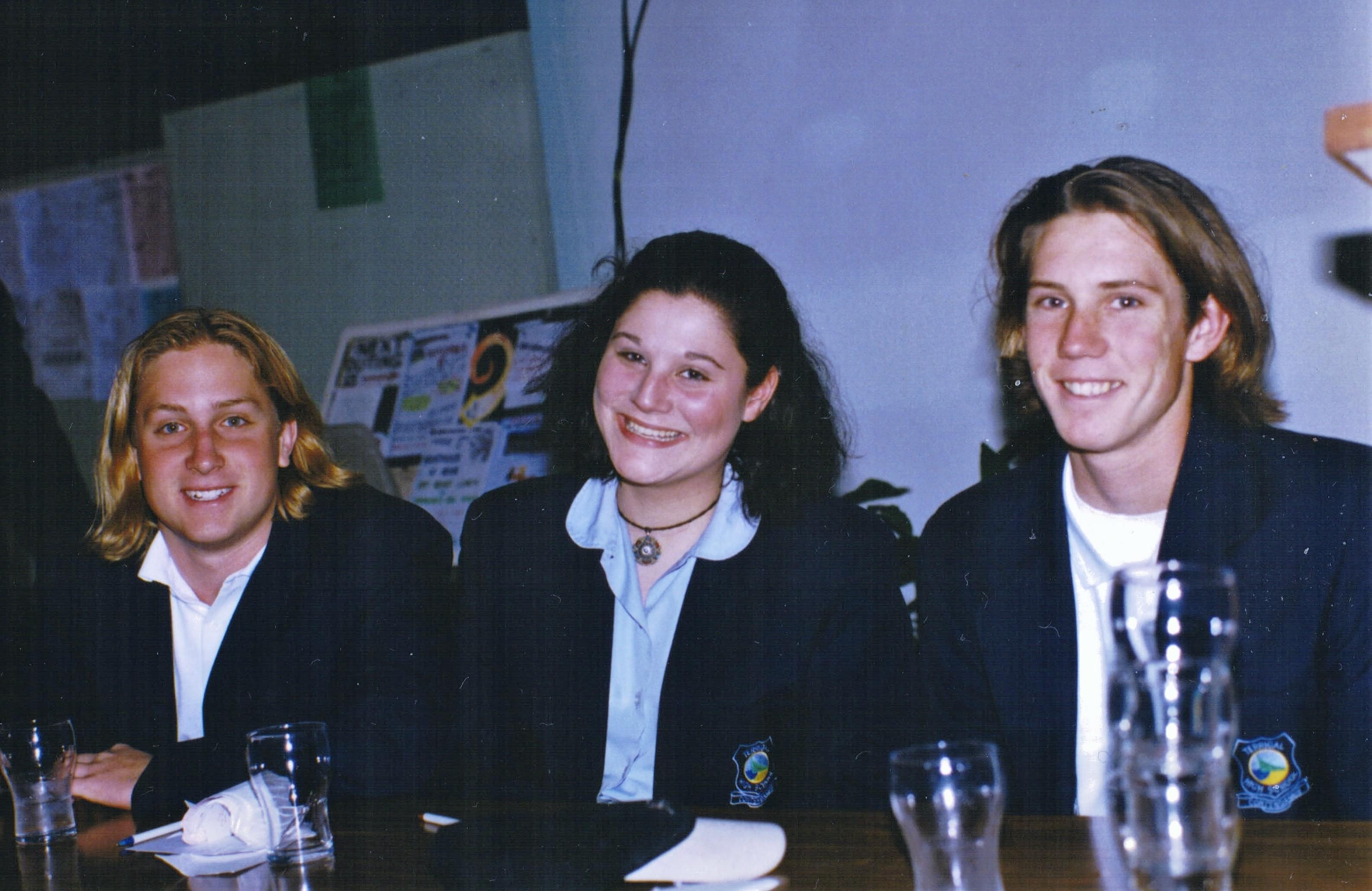 1996 Activities Debate Winners Terrigal