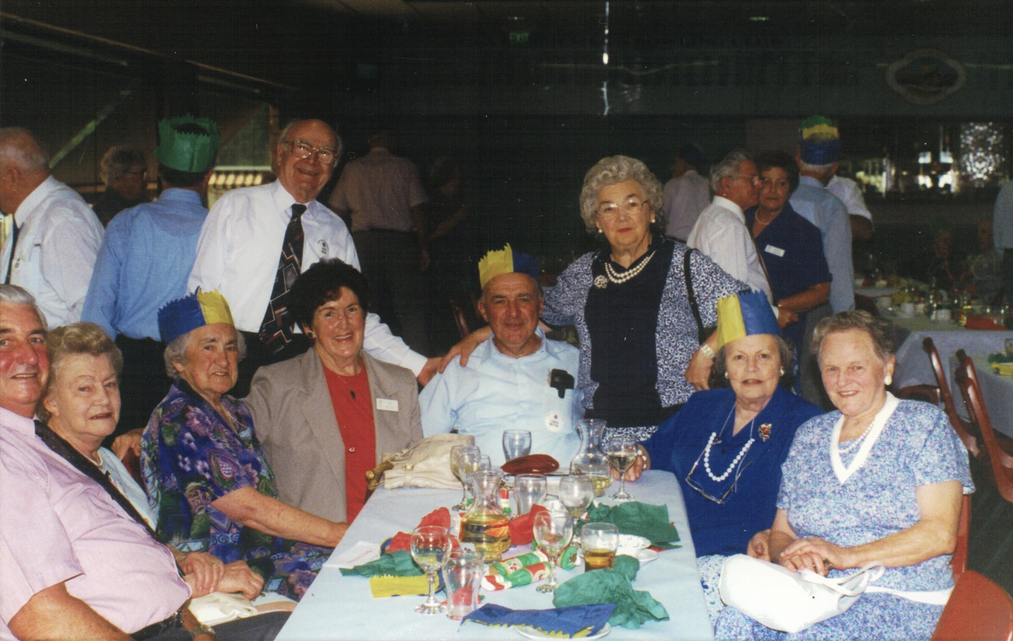 1997 Activities Christmas Luncheon at Av