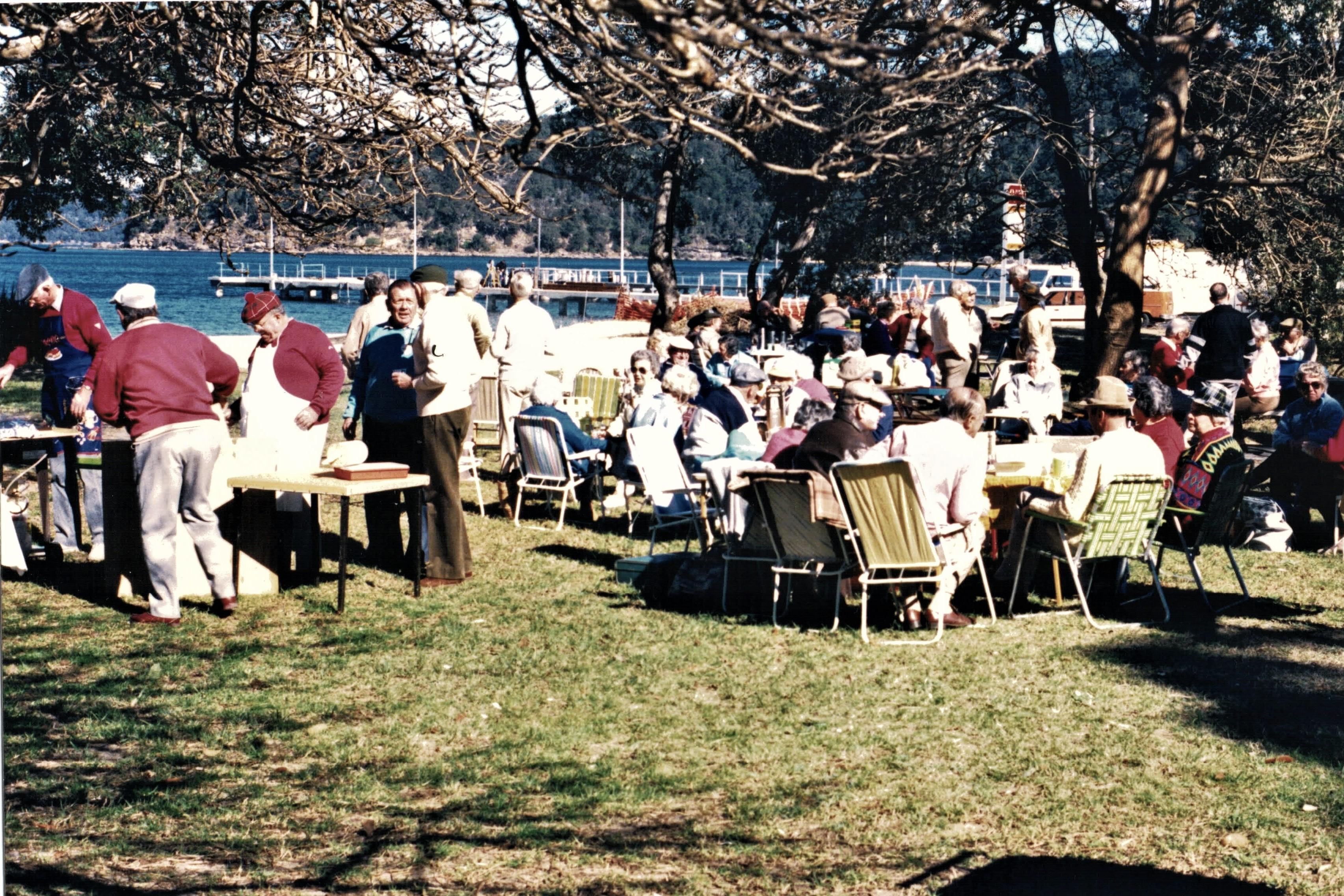 1989 Outings Barbecue at Patonga 11-7-89