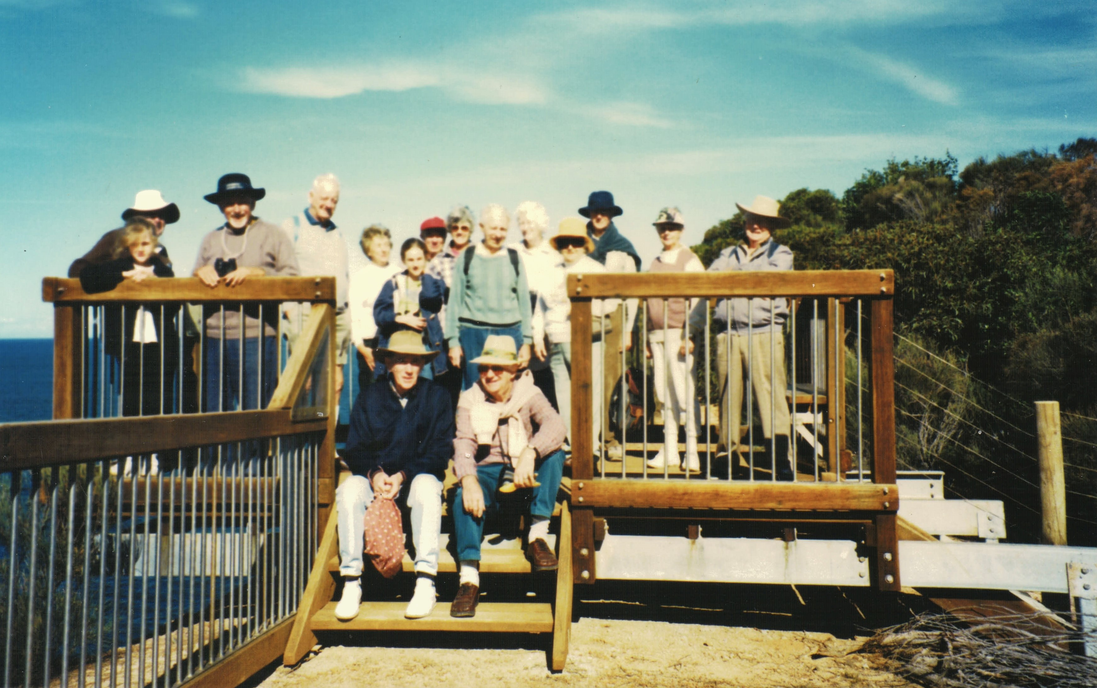 1998 Activities Walk and Whale watching