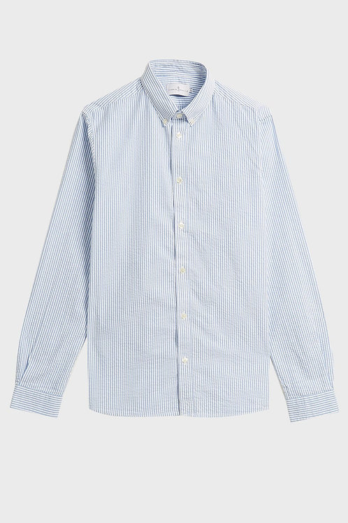 Cuisse de Grenouille Light Blue and White Oxford shirt