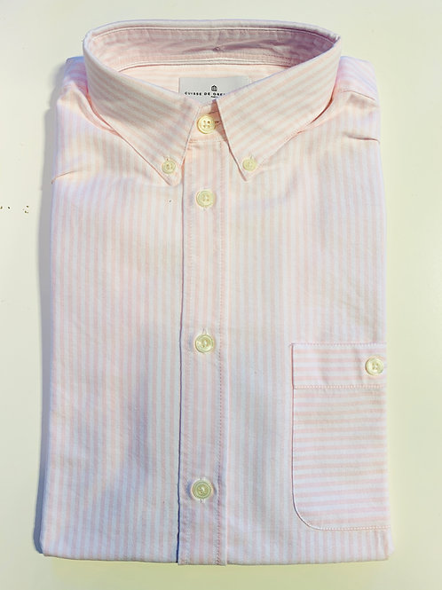 Cuisse de Grenouille Pink and White Oxford shirt