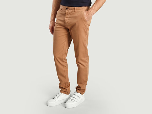 Cuisse de Grenouille Camel Chino Trousers