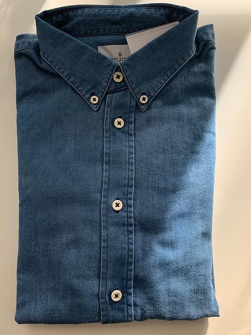 Cuisse de Grenouille button down denim shirt