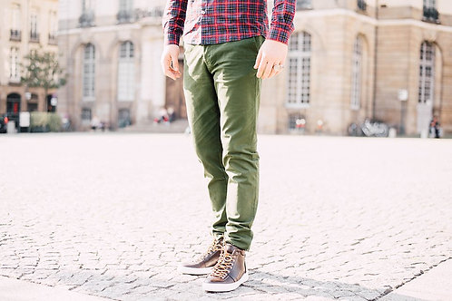 Cuisse de Grenouille Avocado Green Chino