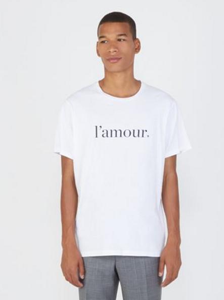 """Cuisse de Grenouille """"l'amour"""" t-shirt"""