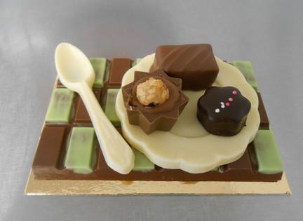 dinette en chocolat