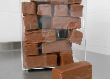 guimauves enrobées chocolat