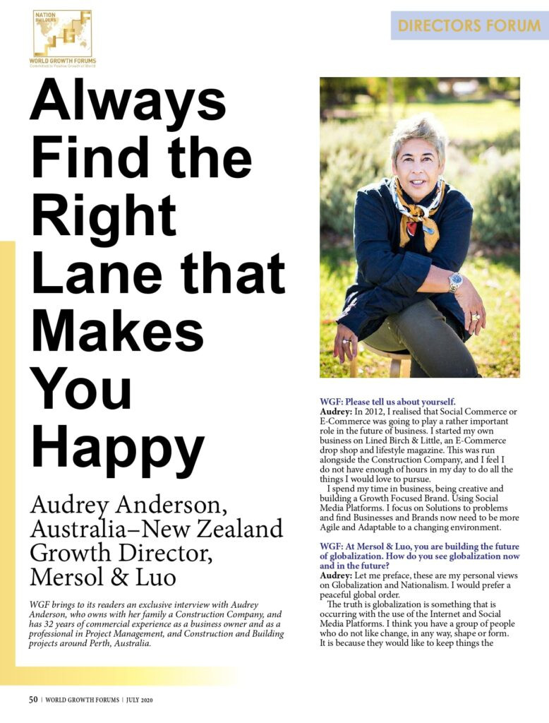 Audrey Anderson Press
