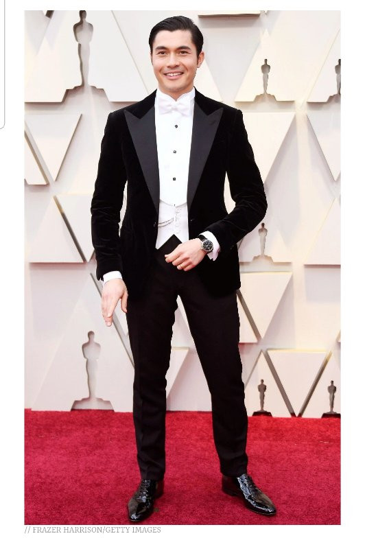 Audrey Anderson World Best Dressed Men Oscars 2019
