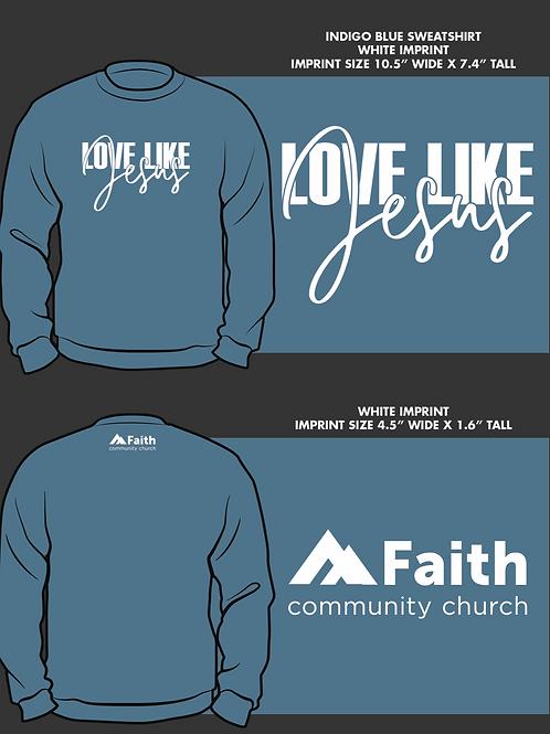 Love Like Jesus Crewneck
