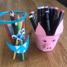 Leuke bakjes voor je pennen