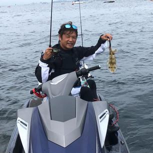 ジェットスキー釣り