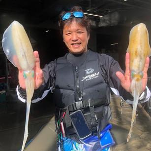 ジェットスキー釣りオーナー釣果