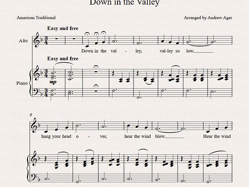 Down in the Valley -alto