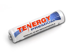 Tenergy Premium NiMh 1000 mAh AAA Battery